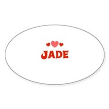 Jade Oval Decal