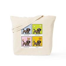 4 Seasons Doxie Tote Bag