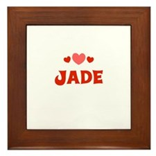 Jade Framed Tile