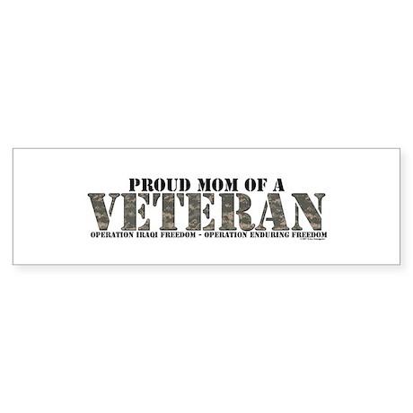 Both Wars (Iraq & Afghanistan Bumper Sticker