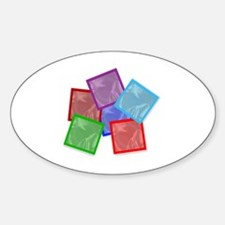 Cute Collections Sticker (Oval)