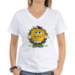 ASL Boy Women's V-Neck T-Shirt