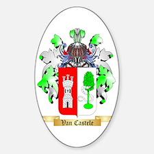 Van Castele Sticker (Oval)