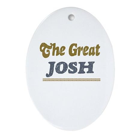 Josh Oval Ornament