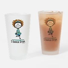 Dance Irish Stick Figure Drinking Glass