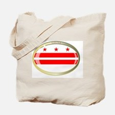 Unique Washington dc oval Tote Bag