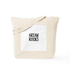 Artan Rocks Tote Bag