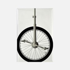 Cute Unicycle Rectangle Magnet