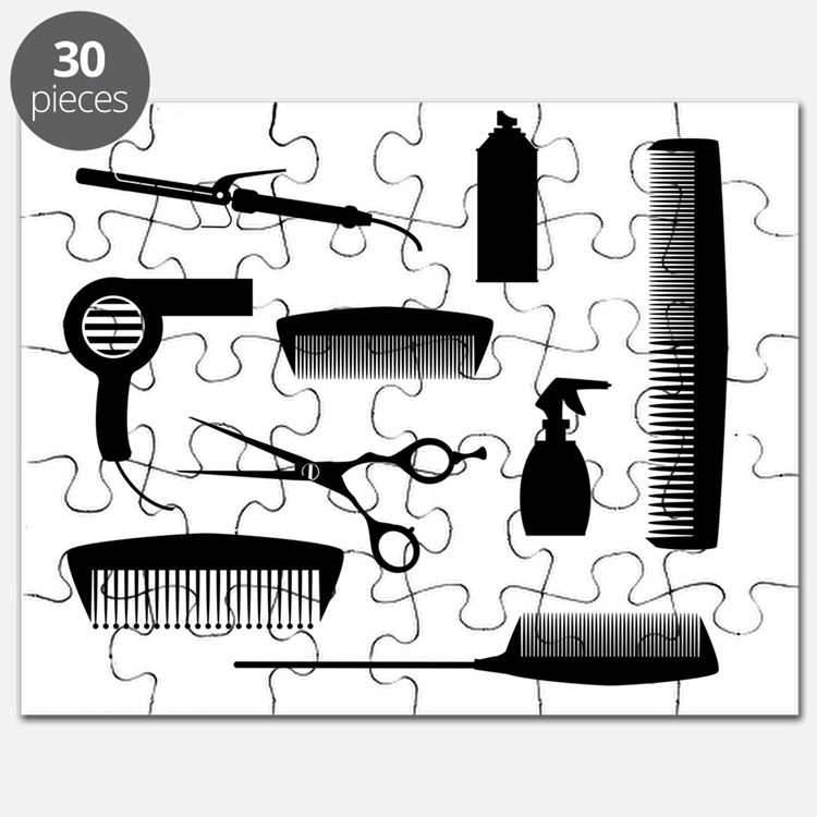 Cute Hairdresser Puzzle