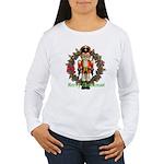 Nutcracker (Red) Women's Long Sleeve T-Shirt