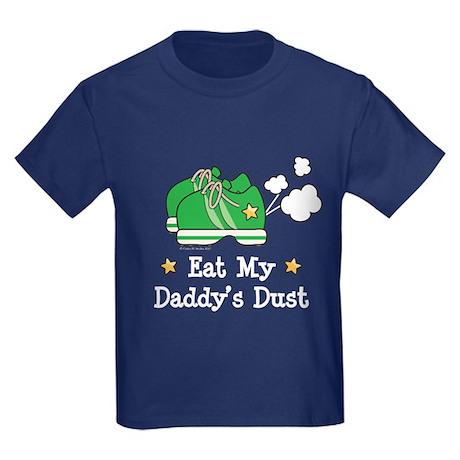 Eat My Daddy's Dust Marathon Kids Dark T-Shirt