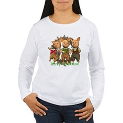 The Three Little Pigs Women's Long Sleeve T-Shirt