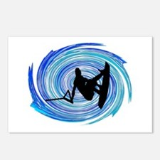 WAKEBOARD Postcards (Package of 8)