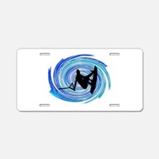 WAKEBOARD Aluminum License Plate