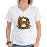 Rocking Horse Women's V-Neck T-Shirt