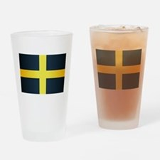 Flag of Saint David Of Wales Drinking Glass
