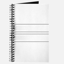 Bass And Treble Clef Web Buttons Journal
