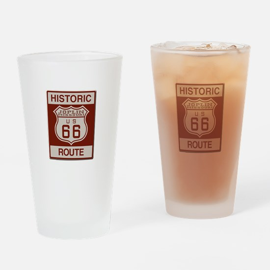 Joplin Route 66 Drinking Glass