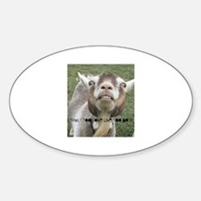 Highwired Goat Decal