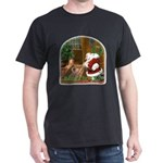 Praying Santa Dark T-Shirt