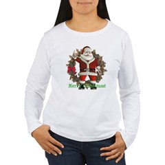 Santa Women's Long Sleeve T-Shirt