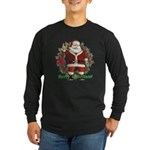 Santa Long Sleeve Dark T-Shirt
