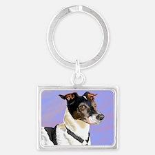 Funny Pet lover Landscape Keychain