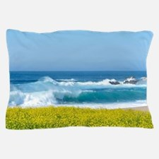 Flowers by the Ocean Pillow Case
