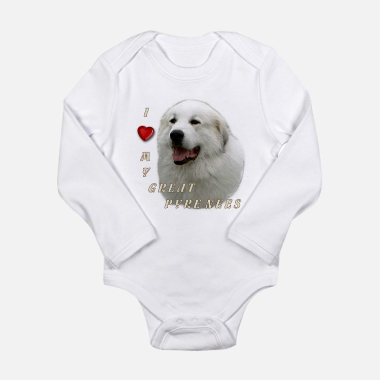 I Love My Great Pyrenees Body Suit