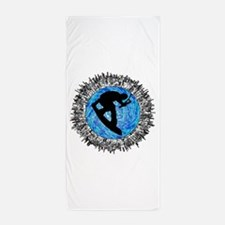 WAKEBOARDER Beach Towel