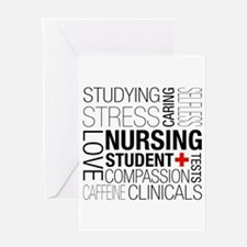 Nursing Student Box Greeting Cards