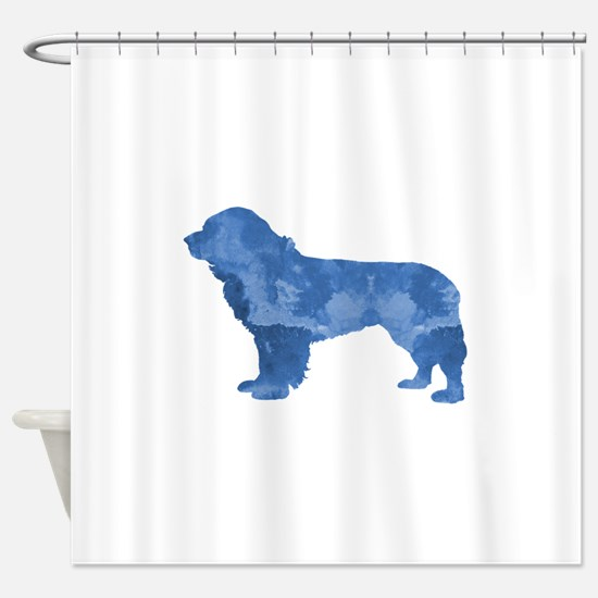 Newfoundland Dog Shower Curtain