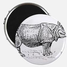 Beautiful Rhino art Magnets