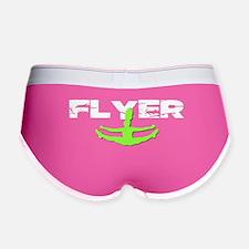 Green Cheerleader Flyer Women's Boy Brief