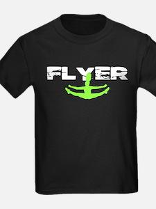 Green Cheerleader Flyer T-Shirt
