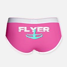 Blue Cheerleader Flyer Women's Boy Brief