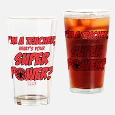 Spider-Man Teacher Drinking Glass