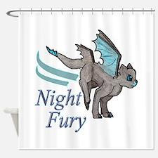 Night Fury Shower Curtain