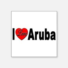 ILoveAruba Sticker