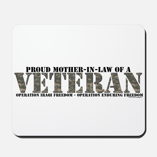 Both Wars (Iraq & Afghanistan Mousepad