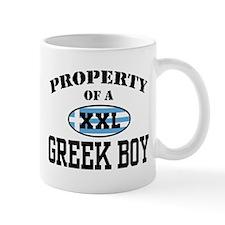Property of a Greek Boy Mug