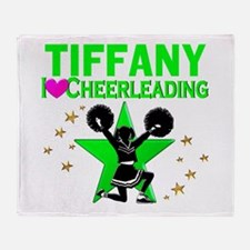 CUSTOM CHEERING Throw Blanket