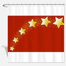 Xmas Background Shower Curtain
