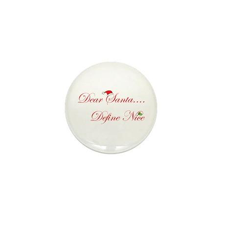 Dear Santa.... Mini Button (10 pack)