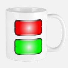 Red and Green Mugs
