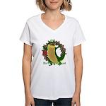 Chuck E. Steak Women's V-Neck T-Shirt