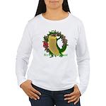 Chuck E. Steak Women's Long Sleeve T-Shirt