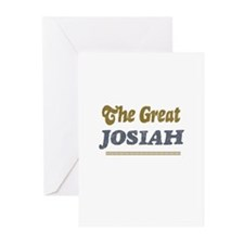 Josiah Greeting Cards (Pk of 10)