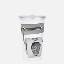 Trump TP Design Acrylic Double-wall Tumbler