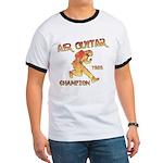 Air Guitar Champion (vintage) Ringer T